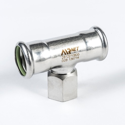 Threaded tee npt