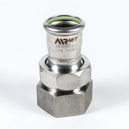 Adapter union female npt